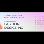 MASTER DIPLOMA IN FASHION DESIGN(CLASS 10TH ONWARDS, 18-24 MONTHS)