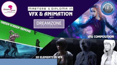 MASTER DIPLOMA IN 3D MODELLING & ANIMATION (10th ONWARD, 15-18 MONTHS)