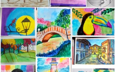 Budding Artist (Live Zoom Classes from 4th-10th)