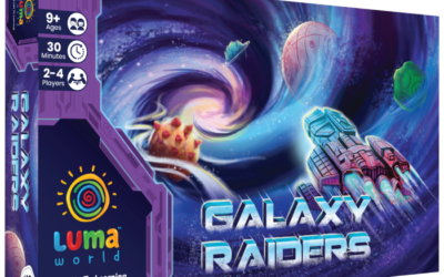 Galaxy Raiders: A Strategy Board Game (4th class -12th Class) Educational game; (Kit Included)