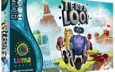 Terra Loop: An Adventure Board Game (3rd class to 10th Class) Educational Game; (Kit Included)