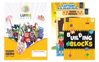 Number Hero (Bundle of 3 Books);(4th Class)