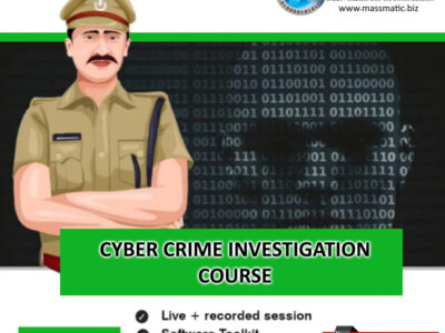 Certified Cyber Crime Investigation Officer Course  (College all years) (Live Online Classes) (Classes from 10 Onwards)